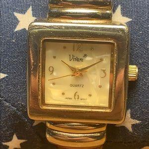 Vivani japan movement vintage bracelet watch
